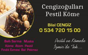Cengizoğulları Pestil Köme - Buca Tatlıcı