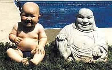 Komik Fotolar - Buda ve bizim bebek