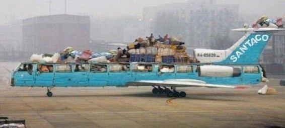 Komik Fotolar - Hava yollarında yeni nesil taşımacılık