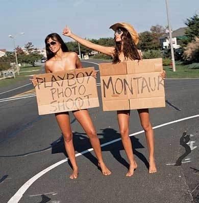 Komik Fotolar - Playboya poz veren kadınlar yolda mı kalmış1