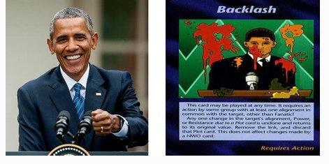 Obama ve İllimünati Kartları