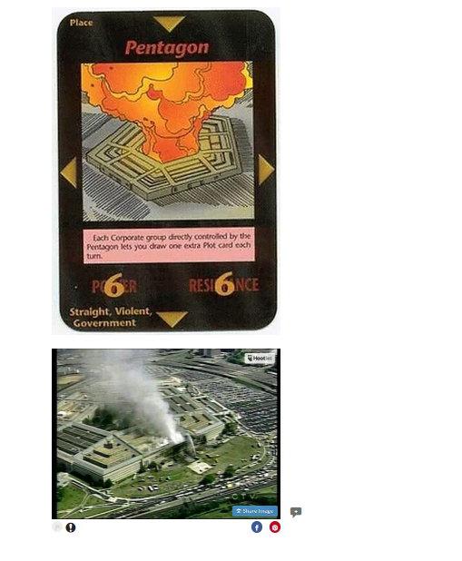 Pentagon Saldırısı ve İllimünati Kartları