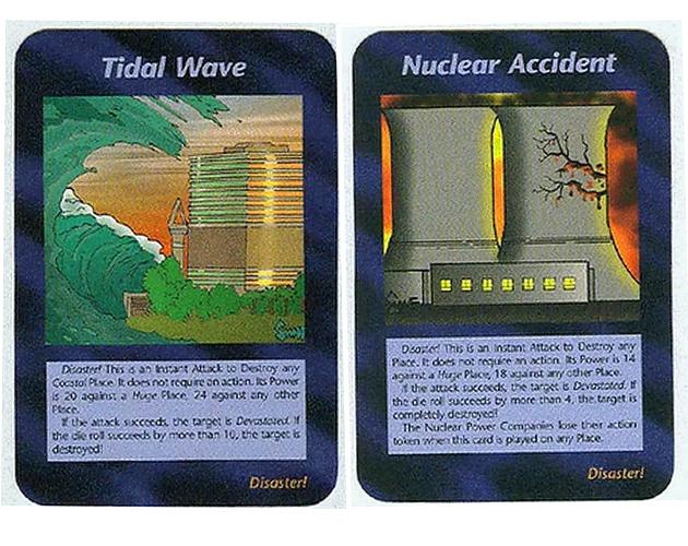 Tsunami Nükler Kazalar ve İllimünati Kartları
