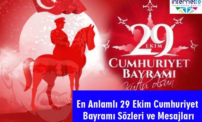 En Anlamlı 29 Ekim Cumhuriyet Bayramı Sözleri ve Mesajları