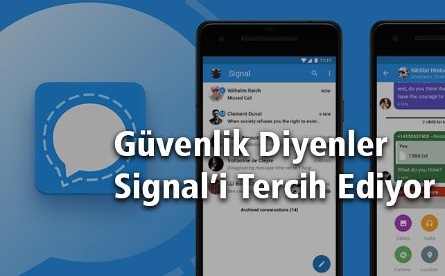 Signal - Whatsapp Benzeri Uygulama