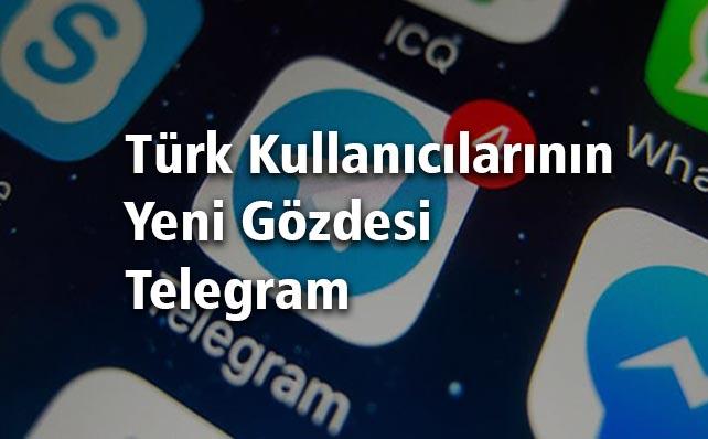 Telegram- Whatsapp Benzeri Uygulama