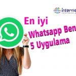 Whatsapp Benzeri 5 Uygulama